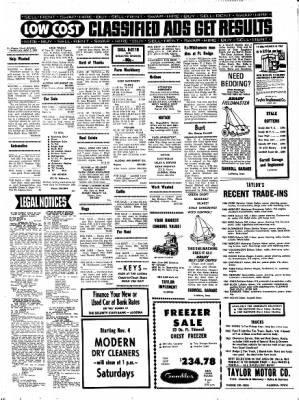 Kossuth County Advance from Algona, Iowa on November 2, 1967 · Page 8