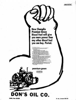 Kossuth County Advance from Algona, Iowa on November 2, 1967 · Page 9