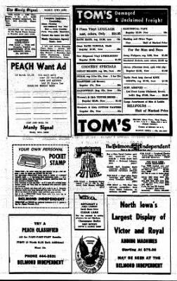 Kossuth County Advance from Algona, Iowa on November 2, 1967 · Page 19