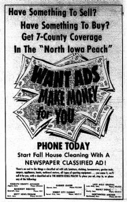 Kossuth County Advance from Algona, Iowa on November 9, 1967 · Page 20
