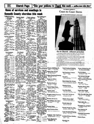 Kossuth County Advance from Algona, Iowa on November 16, 1967 · Page 10