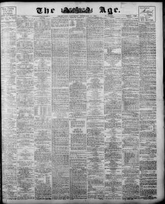 the age from melbourne victoria on february 14 1925 page 1