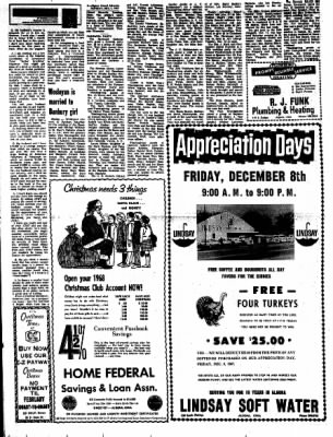 Kossuth County Advance from Algona, Iowa on December 4, 1967 · Page 4