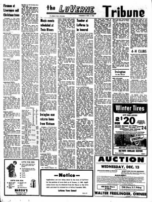 Kossuth County Advance from Algona, Iowa on December 7, 1967 · Page 4