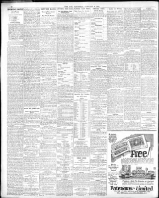 The Age From Melbourne Victoria On January 3 1931 Page 12