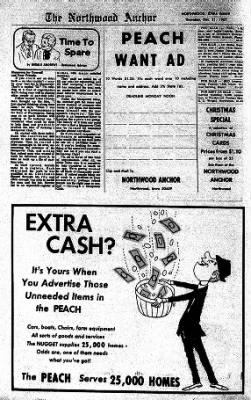 Kossuth County Advance from Algona, Iowa on December 25, 1967 · Page 12