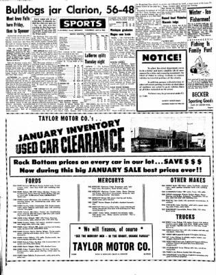 Kossuth County Advance from Algona, Iowa on January 6, 1966 · Page 6