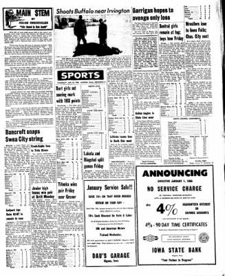 Kossuth County Advance from Algona, Iowa on January 20, 1966 · Page 5
