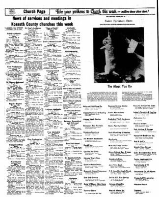Kossuth County Advance from Algona, Iowa on February 10, 1966 · Page 10
