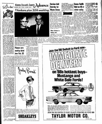 Kossuth County Advance from Algona, Iowa on February 17, 1966 · Page 9