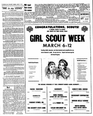 Kossuth County Advance from Algona, Iowa on March 7, 1966 · Page 6
