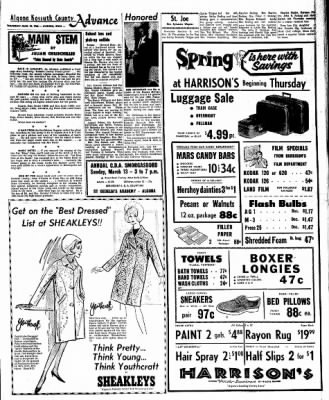 Kossuth County Advance from Algona, Iowa on March 10, 1966 · Page 7