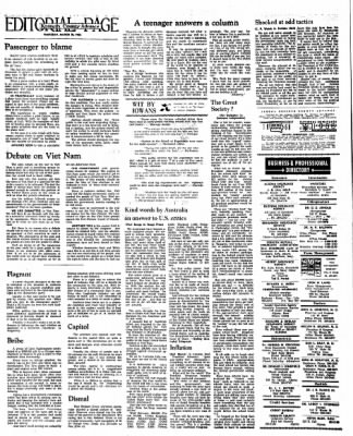 Kossuth County Advance from Algona, Iowa on March 10, 1966 · Page 16