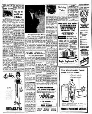 Kossuth County Advance from Algona, Iowa on March 14, 1966 · Page 4