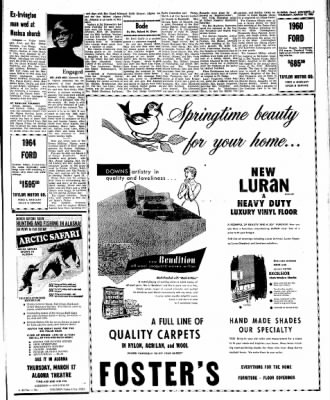 Kossuth County Advance from Algona, Iowa on March 17, 1966 · Page 9