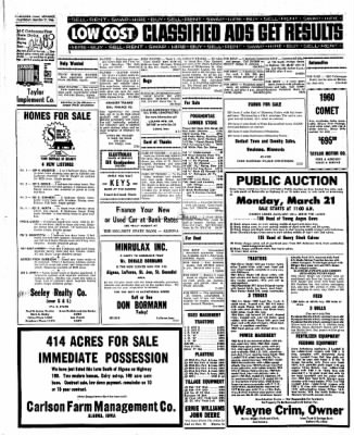 Kossuth County Advance from Algona, Iowa on March 17, 1966 · Page 10
