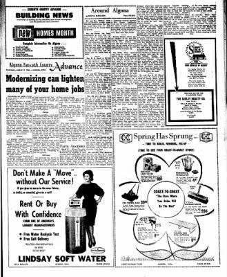 Kossuth County Advance from Algona, Iowa on March 17, 1966 · Page 13