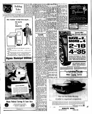 Kossuth County Advance from Algona, Iowa on March 24, 1966 · Page 16