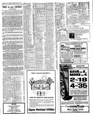 Kossuth County Advance from Algona, Iowa on March 28, 1966 · Page 6