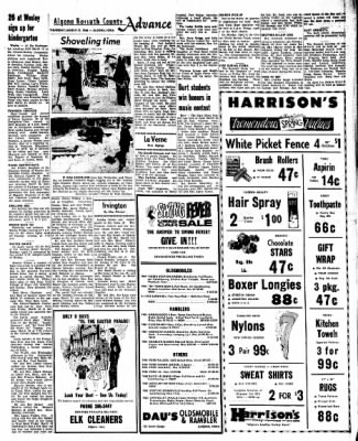 Kossuth County Advance from Algona, Iowa on March 31, 1966 · Page 7