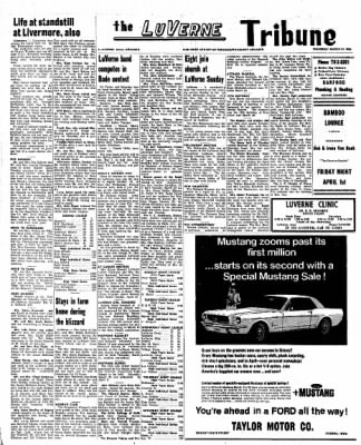 Kossuth County Advance from Algona, Iowa on March 31, 1966 · Page 10