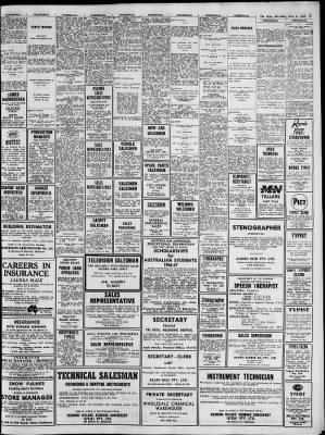 The Age from Melbourne, Victoria, Australia on November 6, 1965