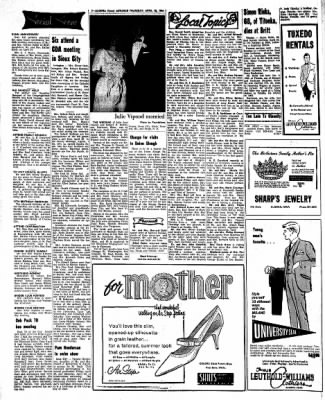 Kossuth County Advance from Algona, Iowa on April 28, 1966 · Page 6