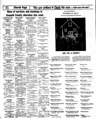 Kossuth County Advance from Algona, Iowa on May 5, 1966 · Page 10