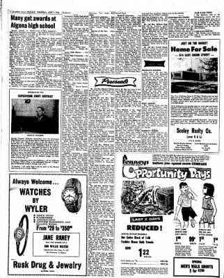 Kossuth County Advance from Algona, Iowa on June 2, 1966 · Page 4