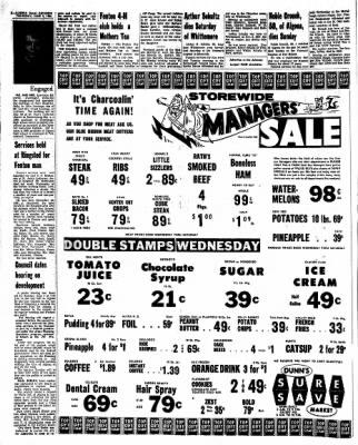 Kossuth County Advance from Algona, Iowa on June 2, 1966 · Page 6
