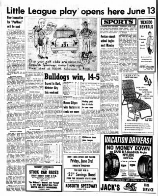 Kossuth County Advance from Algona, Iowa on June 2, 1966 · Page 8