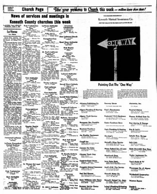 Kossuth County Advance from Algona, Iowa on June 9, 1966 · Page 16
