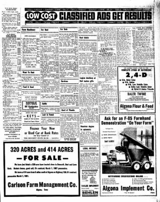 Kossuth County Advance from Algona, Iowa on June 13, 1966 · Page 7