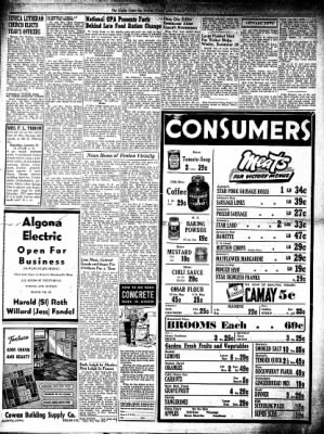 The Algona Upper Des Moines from Algona, Iowa on January 11, 1945 · Page 2