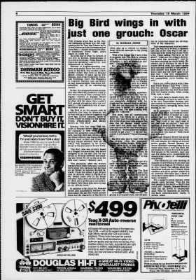 The Age from Melbourne, Victoria, Australia on March 15, 1984 · Page 40