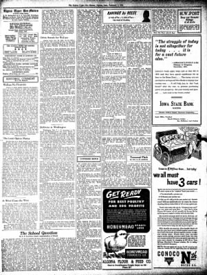 The Algona Upper Des Moines from Algona, Iowa on February 8, 1945 · Page 3
