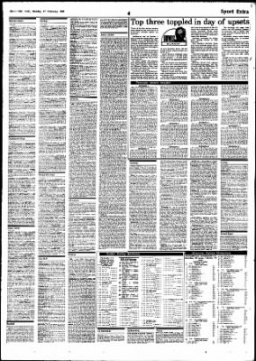 The Age from Melbourne, Victoria, Australia on February 17, 1986