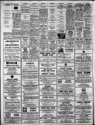 The Age from Melbourne, Victoria, Australia on June 5, 1965