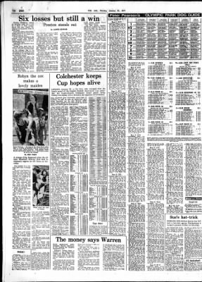 The Age from Melbourne, Victoria, Australia on January 31, 1977