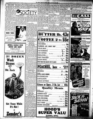 The Algona Upper Des Moines from Algona, Iowa on July 26, 1945 · Page 4