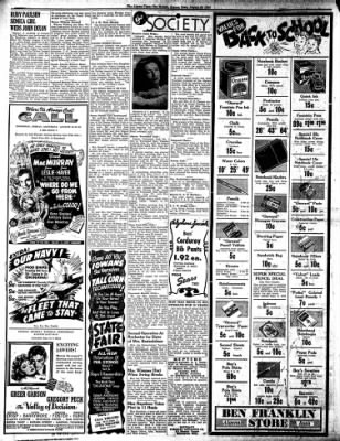 The Algona Upper Des Moines from Algona, Iowa on August 23, 1945 · Page 6