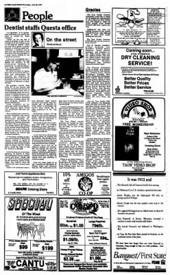The Taos News from Taos, New Mexico on July 23, 1987 · Page 8
