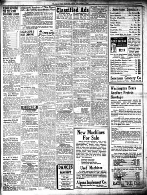 The Algona Upper Des Moines from Algona, Iowa on October 4, 1945 · Page 7