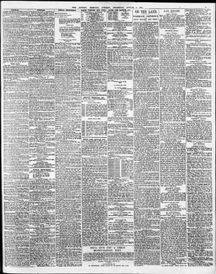 d9482a90 The Sydney Morning Herald from Sydney, New South Wales, Australia on August  4, 1921 · Page 5