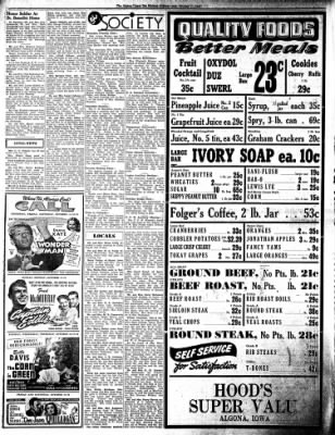 The Algona Upper Des Moines from Algona, Iowa on October 11, 1945 · Page 9