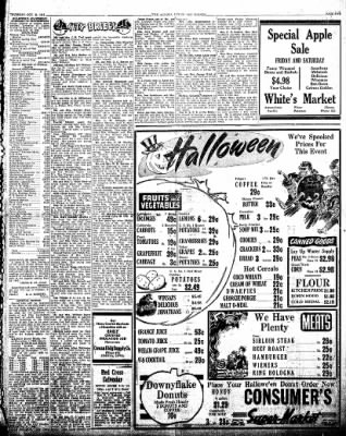 The Algona Upper Des Moines from Algona, Iowa on October 25, 1945 · Page 13