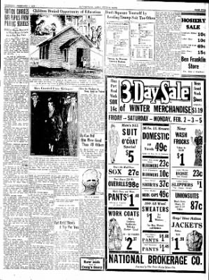The Courier News from Blytheville, Arkansas on February 1, 1934 · Page 5