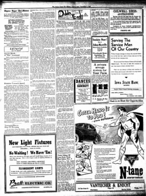 The Algona Upper Des Moines from Algona, Iowa on November 8, 1945 · Page 8