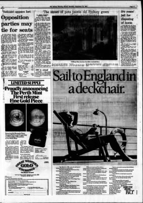 The Sydney Morning Herald from Sydney, New South Wales, Australia on September 24, 1981 · Page 11