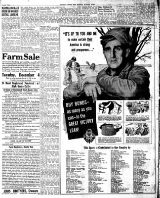 The Algona Upper Des Moines from Algona, Iowa on November 29, 1945 · Page 10